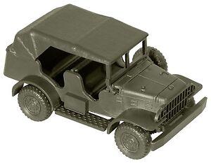 Roco-H0-05087-Minitank-Bausatz-034-Dodge-3-4-Kuebelwagen-034-1-87-NEU-OVP
