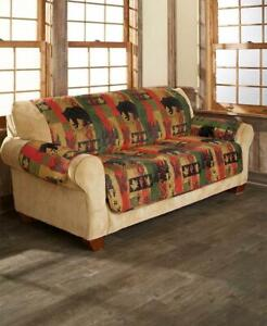 Lodge Log Cabin Sofa Couch Slipcover