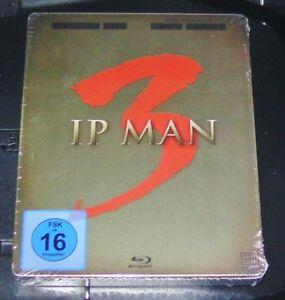 IP Man 3 Edizione Limitata Steelbook con libretto + 2 CARTOLINE BLU RAY NUOVO & OVP
