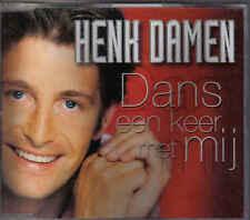 Henk Damen-Dans Een Keer Met Mij cd maxi single