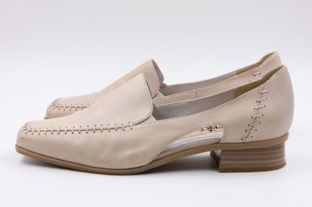 CAPRICE Pumps Größe 4,5 (37,5) Beige Leder Echtleder Schuhe kaum getragen