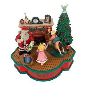 Animated Musical Toy Lustre Fame Welcome Santa Christmas Traditions See Video
