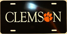 Clemson University Tigers License Plate Tag