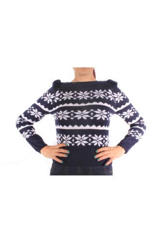 40s//50s modello norvegesi retro lavorazione a maglia Pullover eiskristalle a Maglia Maglione
