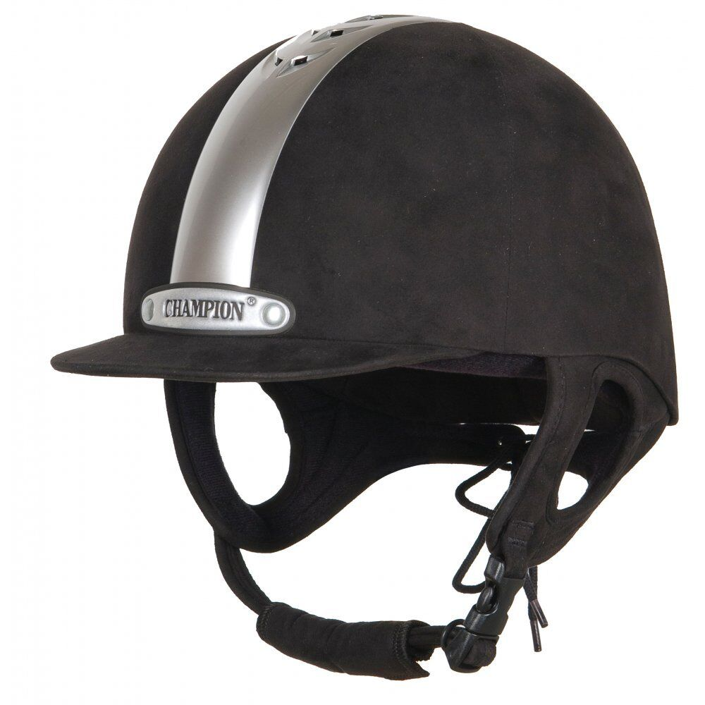 CHAMPION Ventair Equitazione Cappello Nero