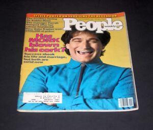 PEOPLE MAGAZINE OCTOBER 29 1979 ROBIN WILLIAMS