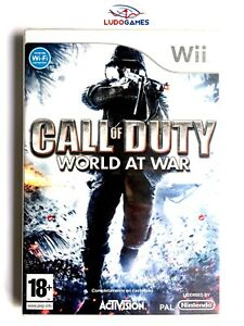 Call-Of-Duty-World-At-War-Wii-Pal-Spa-Scelle-Videojuego-Neuf-Nouveau-Scelle
