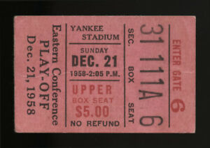 1958-NEW-YORK-GIANTS-VS-CLEVELAND-BROWNS-EASTERN-CONFERENCE-PLAYOFF-TICKET-STUB