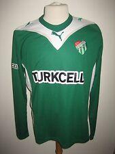 Bursaspor away Turkey football shirt soccer jersey trikot maillot Turkye size XL