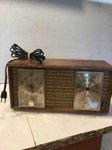 Zenith-Model-X390-1950-039-s-Vintage-Antique-Wooden-Tube-Radio-EXCELLENT-WORKS