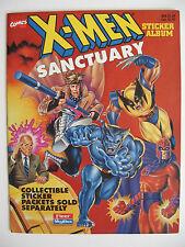 """Fleer/Skybox Sammelbilderalbum """"X-Men Sanctuary"""", engl., komplett"""