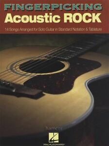 Acheter Pas Cher Fingerpicking Acoustic Rock Guitar Tab Music Book Fingerstyle-afficher Le Titre D'origine