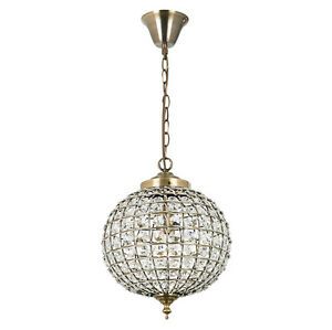 Moroccan style tanaro antique brass crystal electrical pendant image is loading moroccan style tanaro antique brass amp crystal electrical aloadofball Choice Image