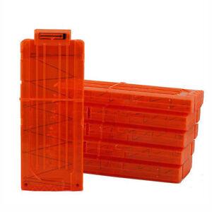 12 Dart Quick Reload Clip System Darts for Nerf N-strike Elite Blaster Toy CMUS