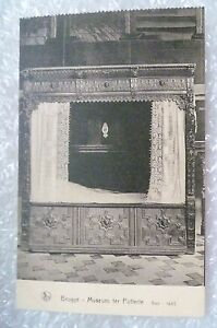 Postcard-Belgium-Brugge-Museum-ter-Potterie-Bed-1643