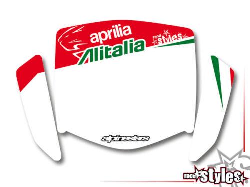 08-2018 Supermoto Autocollant Set Graphics Décalques Décor Kit Aprilia Sx Rx 50 125