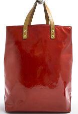 Louis Vuitton READE MM VERNIS Bag Tasche TIMELESS Zeitlos ROT RED ROUGE Rare