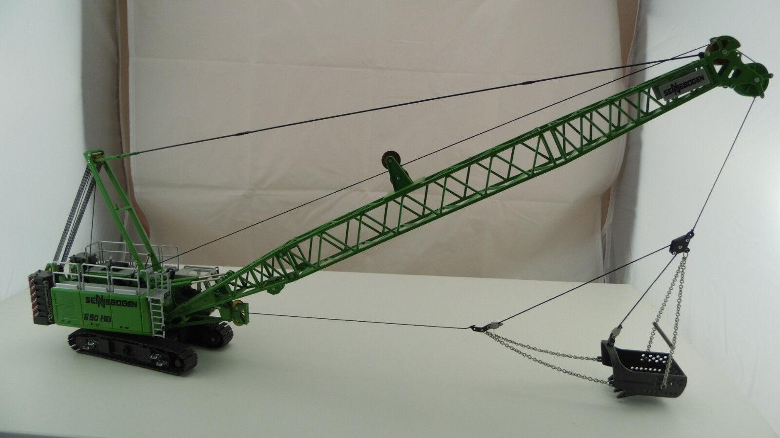Ros 1:50 Senne Arc Arc Arc 690 HD Câble Avec remorqués Pelle bm47 NEUF neuf dans sa boîte   Discount  774530