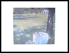 Lutz Münzfeld Köln Blaues Fenster handsigniert Poster Kunstdruck & Rahmen 80x60
