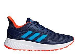 Adidas-DURAMO-9K-F35107-Blu-Scarpe-Donna-Bambini-Sportive-Running