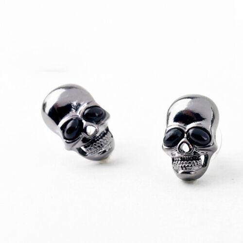 Femme crâne Stud boucle d/'oreille Skull MO