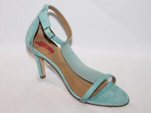 COUNTRY-ROAD-Designer-Blue-Suede-Leather-Strappy-Heels-Shoes-Size-36-NEW