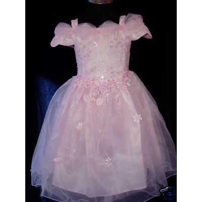 New Flower Girl Party Bridesmaid Pagent Dress