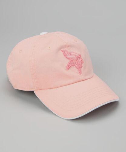 Minnesota Vikings Adjustable Pink Youth Baseball Hat NWT