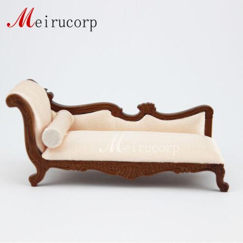 Lounge Dollhouse 1//12 scale miniature furniture Hand Carved  Cloth  Nice sofa