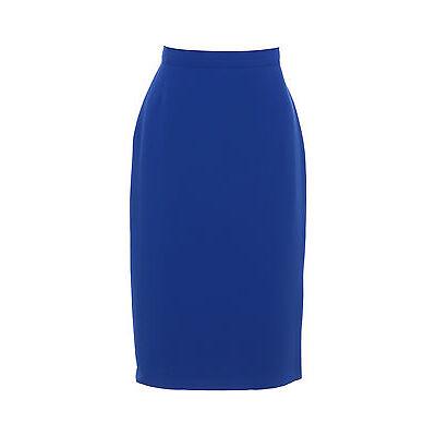 Busy Ladies Royal Blue Pencil Skirt
