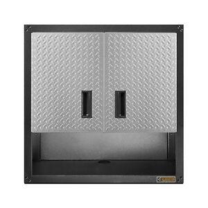 wall mounted storage cabinet gladiator gearbox garage tools hanging shop office ebay. Black Bedroom Furniture Sets. Home Design Ideas