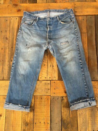 #6 Vintage Redlines Selvedge Levi's Denim Jeans Di