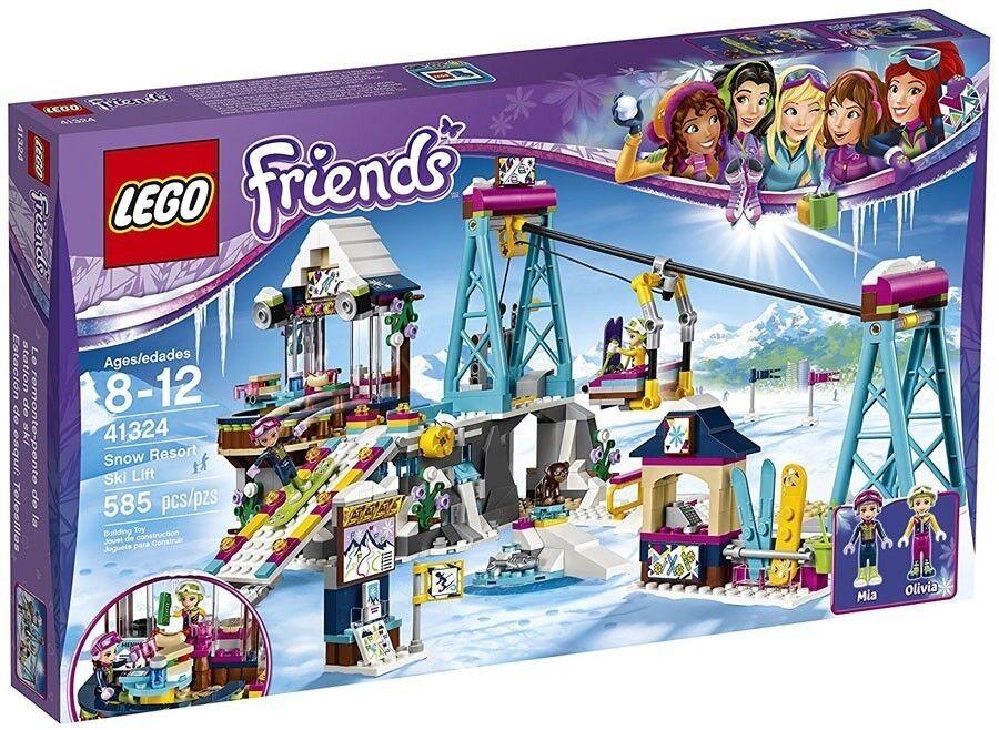 41324 Friends Snow Resort Ski Lift Lego Fjlyzp1903 Toys Games