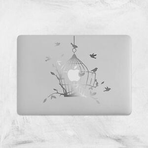 Decal-for-Macbook-Pro-silver-vinyl-Sticker-bird-cage-air-funny-13-15-birdcage