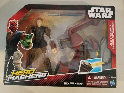 Star Wars The Force Awakens Hero Mashers Jedi Speeder and Anakin Skywalker