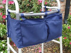 Details About Walker Tote Bag A 4 Pockets Accessories Usa New Navy Carry
