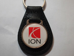 Saturn Ion Leather Key Ring