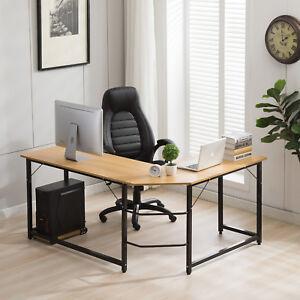 office desk workstation. Image Is Loading L-Shaped-Desk-Corner-Computer-Desk-Workstation-Home- Office Desk Workstation G