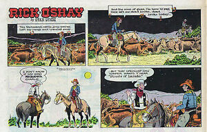 Rick-O-039-Shay-by-Stan-Lynde-half-tab-color-Sunday-comic-page-June-14-1970