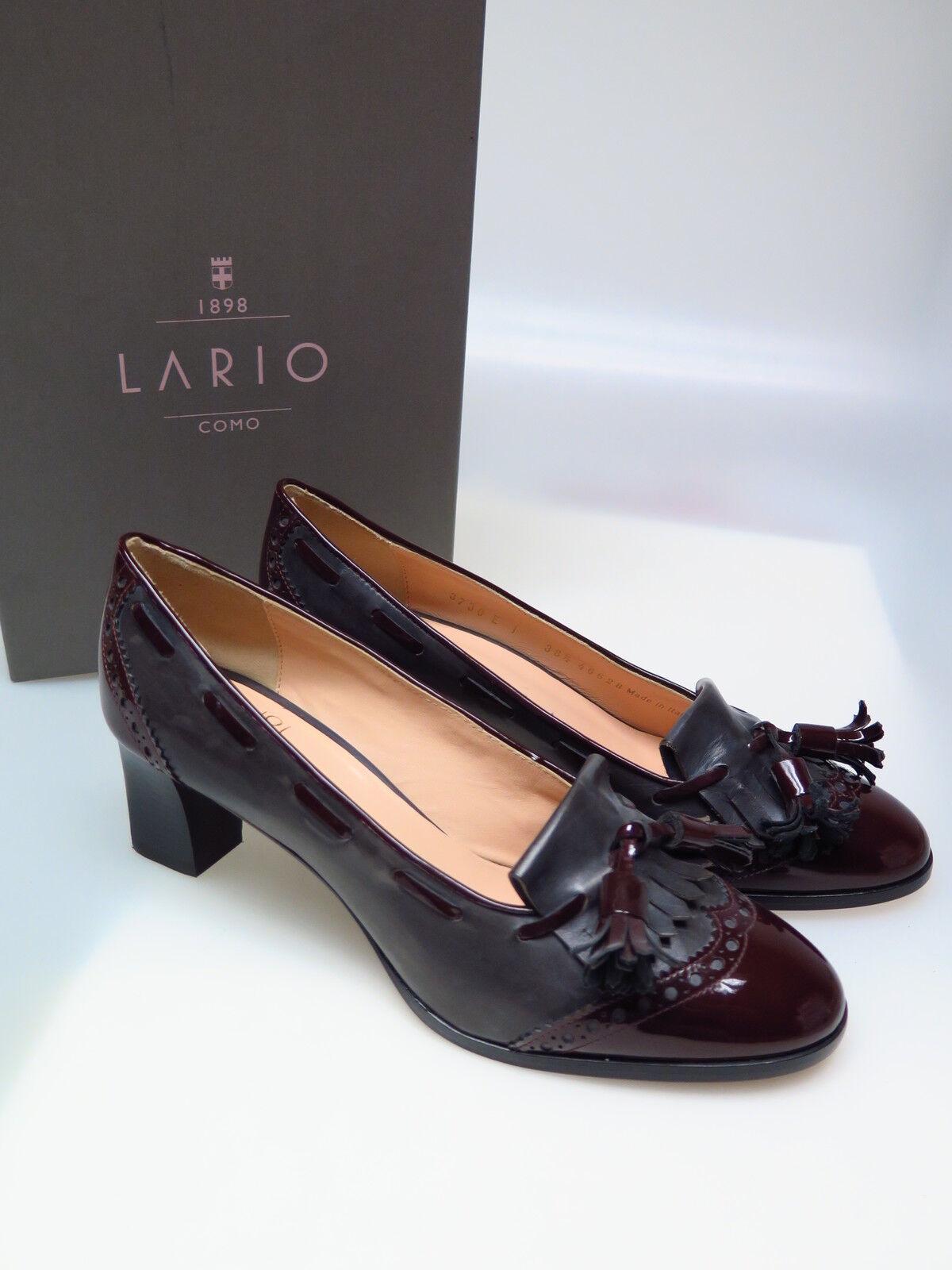 LARIO COMO 1898 Designer Damenschuhe LA B3730 Fee 2I Bordo 1940 Gr. 38,5 NEU