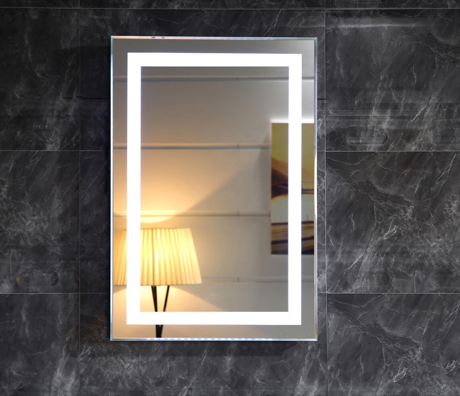 LED-Beleuchtung Wandspiegel GS099N Lichtspiegel Badspiegel Badzimmerspiegel IP44