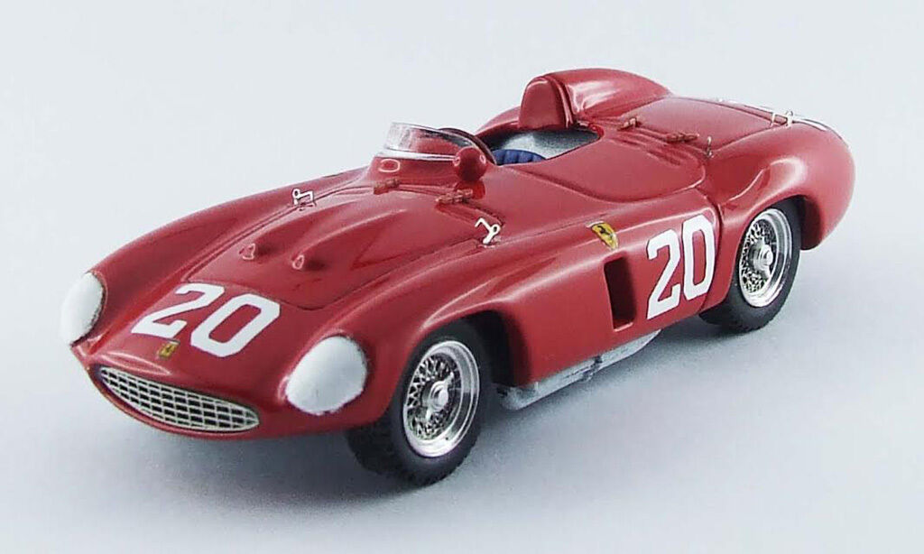 FERRARI 857 S Nassau 1955 P. Hill 1:43 WINNER MODEL 0278 ART-MODEL