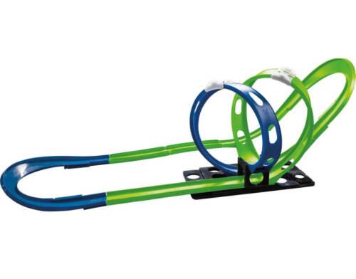Elektrisches Spielzeug 3,80 m mit 2 Loopings Darda Rennbahn DTM Speed Champion 50251 Fahrbahnlänge ca