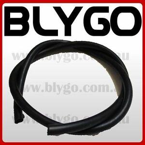BLACK-1M-1-Meter-5mm-ID-Fuel-Petrol-Line-Hose-PIT-Trail-Quad-Dirt-Bike-ATV-Buggy