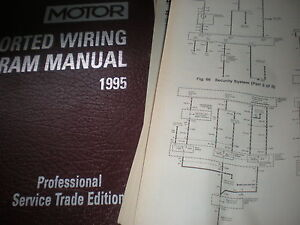 details about 1995 acura integra legend coupe and sedan wiring diagrams manual sheets set integra dash wiring diagram 1995 acura integra wiring diagram #15