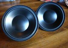 "Xtant Technologies 4"" Midrange Woofers Speakers Pair New"