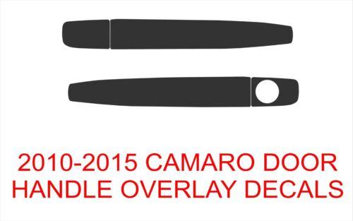Fits: Camaro 2010-2015 Camaro Door Handle Overlay Decals