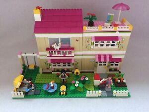 Lego Friends 3315 La Casa De Olivia Conjunto Con Instrucciones Y Mini Figuras Ebay