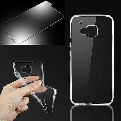 Silikon Hülle Handytasche + PANZER GLAS FOLIE für HTC One Desire Case Tasche Anu