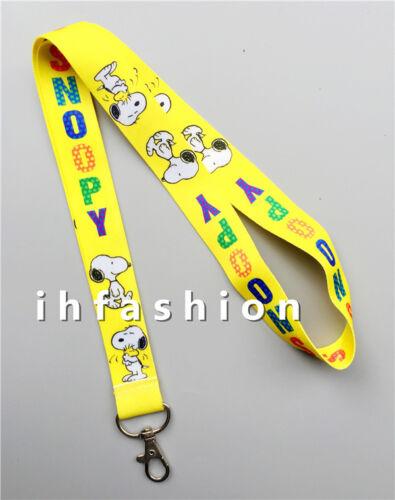 1pcs Cartoon white dog new Straps Lanyard ID Badge Holders Mobile Neck Key chain